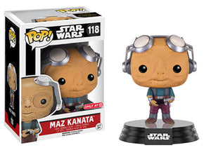 Maz Kanata (Goggles Up) 118 - Target Exclusive Pop Head