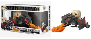 Daenerys & Firey Drogon (Rides, Game of Thrones) 68  [Damaged: 6/10]