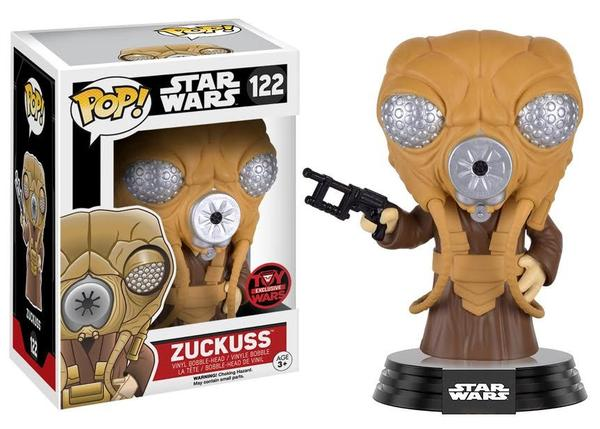 Zuckuss 122 - Toy Wars Exclusive  [Damaged: 7.5/10]