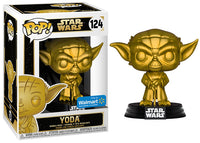 Yoda (Gold, Star Wars) 124 - Walmart Exclusive