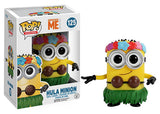 Hula Minion (Despicable Me) 125 **Vaulted**  [Damaged: 7/10] Pop Head
