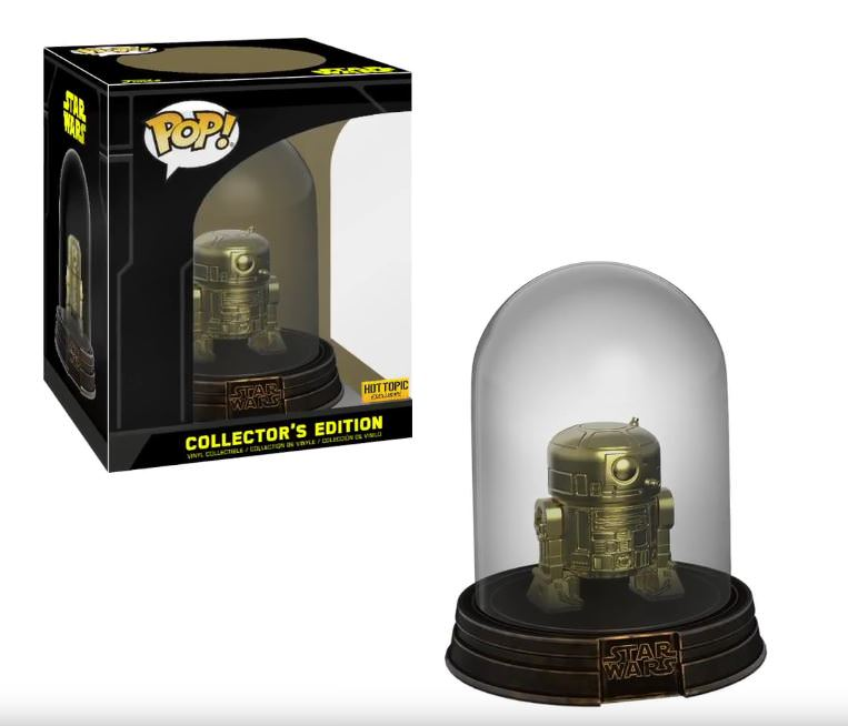 R2-D2 (Gold Collector's Edition) - Hot Topic Exclusive