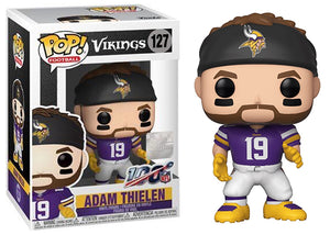Adam Thielen (Minnesota Vikings, NFL) 127  [Damaged: 7.5/10]