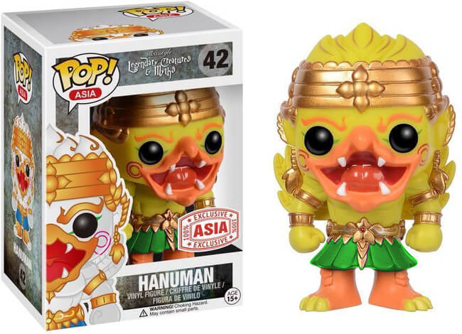 Hanuman (Yellow/Green, Legendary Creatures & Myths) 42 - Asia Exclusive /380 made