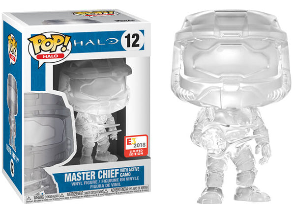 Master Chief with Active Camo (Halo) 12 - E3 Exclusive  [Damaged: 7/10]