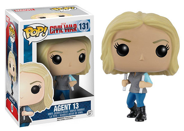Agent 13 (Captain America Civil War) 131 **Vaulted** Pop Head