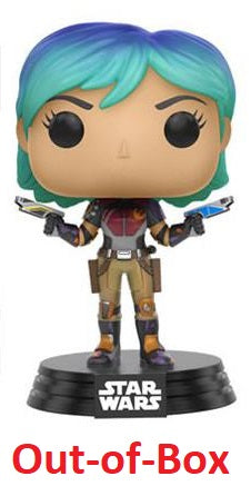 Out-of-Box Sabine (Rebels) 135  [Damaged: 7.5/10]  **Missing Stand**