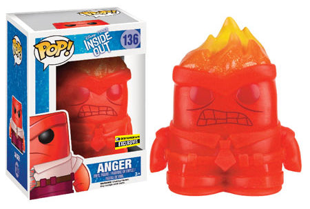 Anger (Crystal, Inside Out) 136 - Entertainment Earth Exclusive Pop Head