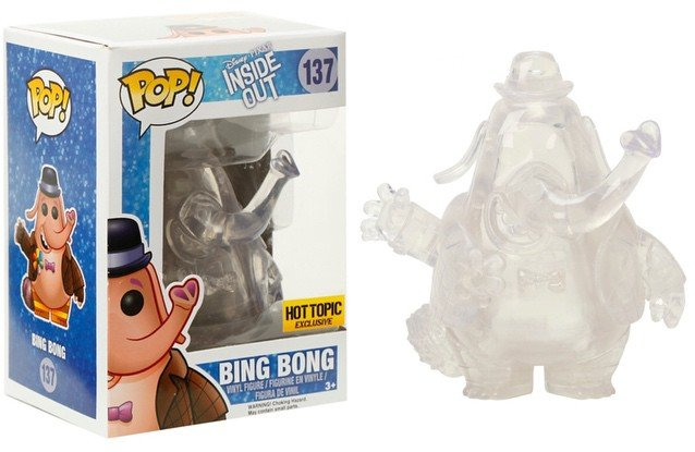 Bing Bong (Clear, Inside Out) 137 - Hot Topic Exclusive