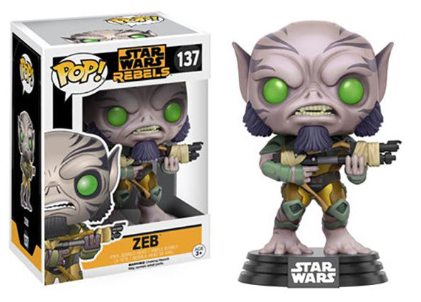 Zeb (Rebels) 137  [Damaged: 7/10] Pop Head