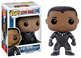 Black Panther (Unmasked, Captain America Civil War) 138 - Walgreens Exclusive Pop Head