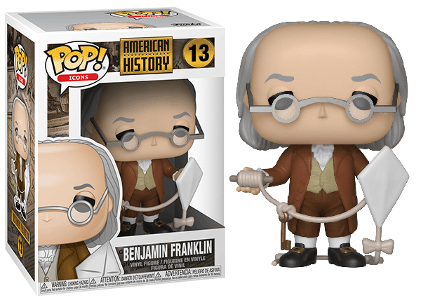 Benjamin Franklin (Icons) 13  [Damaged: 7.5/10]