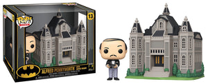Alfred Pennyworth w/ Wayne Manor (Town) 13