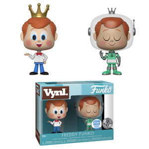 Funko Vynl. Freddy Funko 2-pack - Funko Shop Exclusive /3000  [Damaged: 7.5/10]