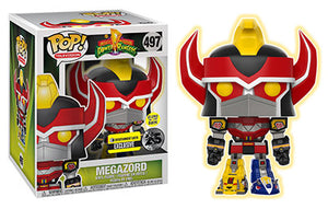 Megazord (6-Inch, Glow in the Dark, Power Rangers) 497 - Entertainment Earth Exclusive