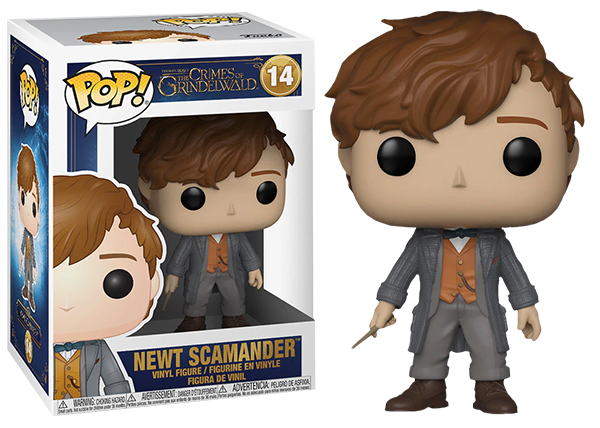 Newt Scamander (Wand, Fantastic Beasts) 14  [Damaged: 7/10]