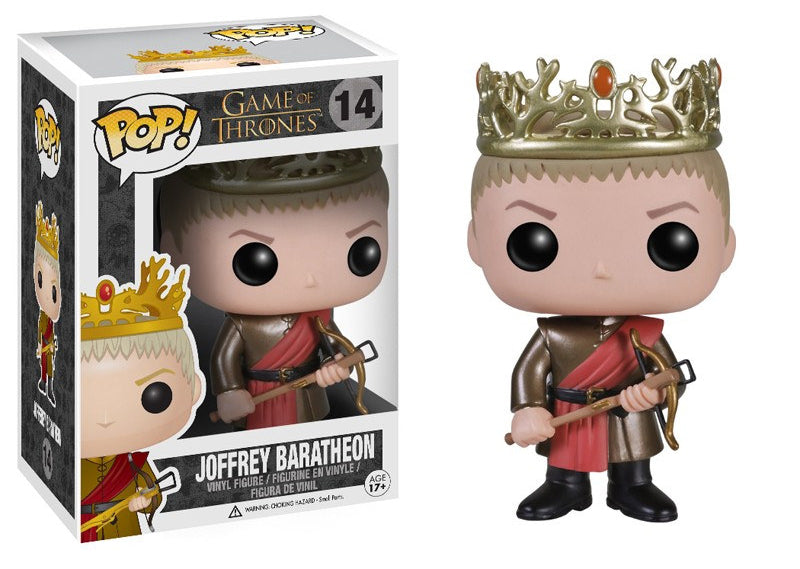 Joffrey Baratheon (Game of Thrones) 14 **Vaulted** Pop Head