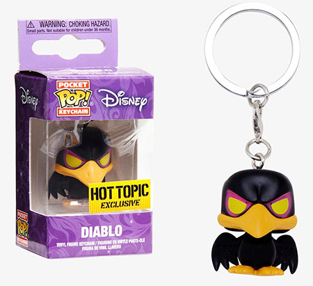 Pocket Pop Keychain Diablo (Sleeping Beauty) - Hot Topic Exclusive