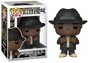 Notorious B.I.G. w/ Fedora 152  [Damaged: 6/10]