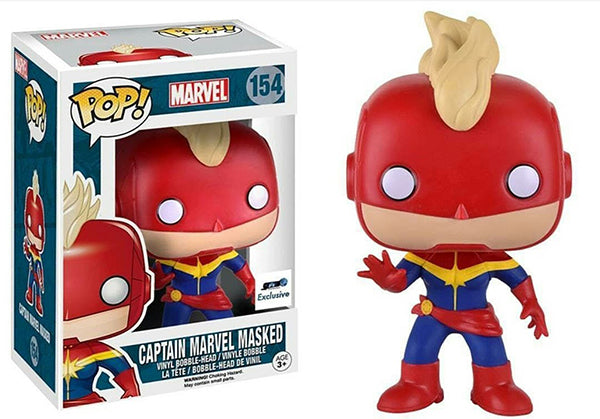 > Captain Marvel Masked 154 - GTS Exclusive