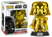 Darth Vader (Gold Chrome) 157 - 2019 Galactic Convention Exclusive