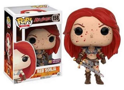 Red Sonja (Bloody) 158 - Previews Exclusive  [Damaged: 7.5/10]