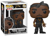 Tupac Shakur (Black Vest) 158  [Damaged: 7.5/10]