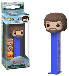 Pop Pez Bob Ross (Dark Blue Stem)