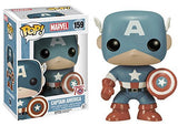 Captain America (Light Blue) 159 - Amazon Exclusive Pop Head