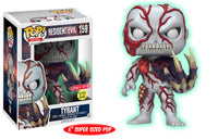 Tyrant (Glow in the Dark, 6-inch, Resident Evil) 159 - Target Exclusive  [Damaged: 7.5/10]