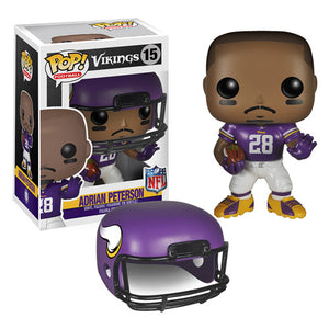 Adrian Peterson (Minnesota Vikings, NFL) 15  [Damaged: 5/10]