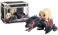 Daenerys & Drogon (Rides, Game of Thrones) 15 [Damaged: 7.5/10]