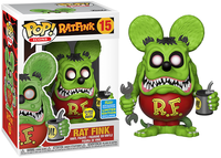 Rat Fink (Glow in the Dark) 15 - 2019 Summer Convention Exclusive  [Damaged: 7/10]
