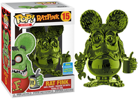 > Rat Fink (Green Chrome) 15 - 2019 Summer Convention Exclusive