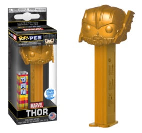 Pop Pez Thor (Gold) - Funko Shop Exclusive /3200 made