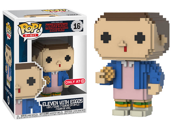 Eleven with Eggos (8-Bit, Stranger Things) 16 - Target Exclusive  [Damaged: 7/10]