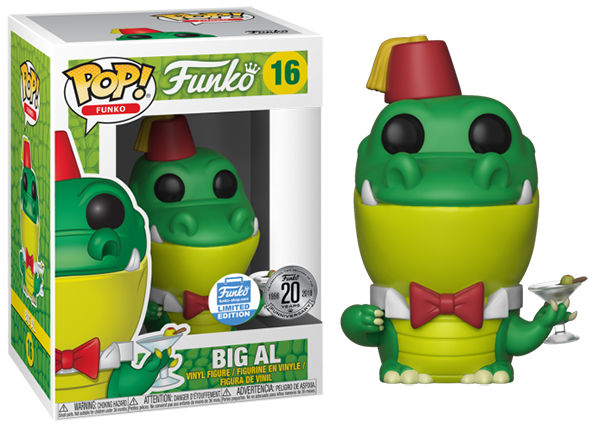 Big Al (Spastik Plastik) 16 - Funko Shop Exclusive
