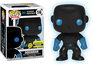 Aquaman (Glow in the Dark, Silhouette) 16 - Entertainment Earth Exclusive