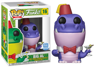 Big Al (Purple, Spastik Plastik) 16 - Funko Shop Exclusive [Damaged: 7.5/10]