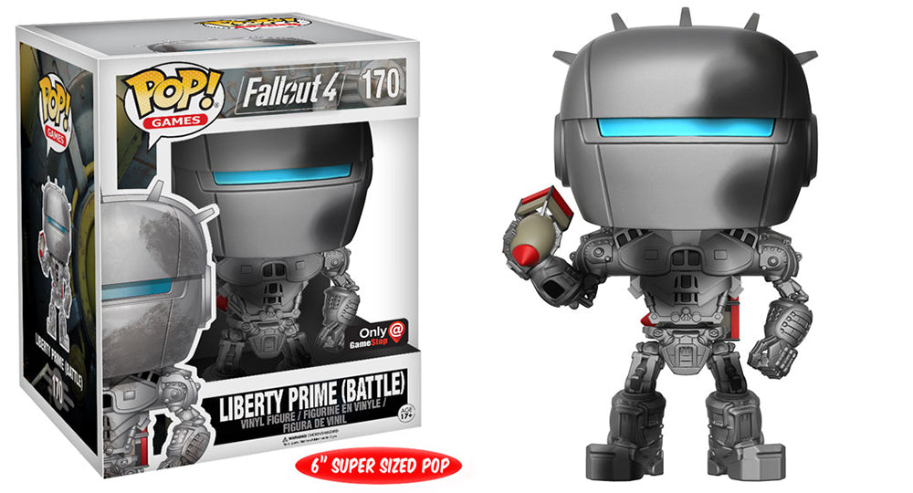 Liberty Prime (6-inch, Battle, Fallout) 170 - Gamestop Exclusive