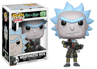 Weaponized Rick (Rick & Morty) 172 Pop Head