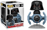 Darth Vader w/Tie Fighter 176  [Damaged: 7/10]