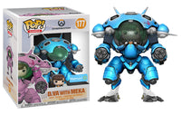 D.Va with Meka (6-inch, Blueberry, Overwatch) 177 - Walmart Exclusive