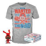 The Noid (Glow in the Dark) and Noid Tee (M, Sealed) 17 - Target Exclusive