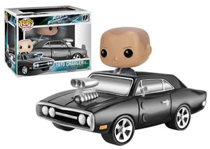 1970 Charger w/ Dom Toretto (Rides, Fast & Furious) 17 **Vaulted**  [Damaged: 7.5/10]