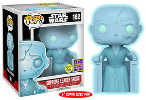 Supreme Leader Snoke (6-inch, Holographic) 182 - 2017 Summer Convention Exclusive
