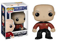 Captain Picard (Star Trek The Next Generation) 188 **Vaulted**  [Damaged: 7/10] Pop Head