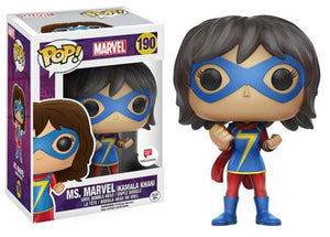 Ms. Marvel (Kamala Khan) 190 - Walgreens Exclusive Pop Head