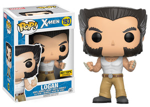 Logan (Tank Top, Bone Claw, X-Men) 193 - Hot Topic Exclusive Pop Head