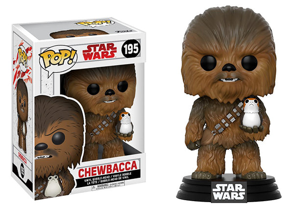 Chewbacca (w/Porg, The Last Jedi) 195